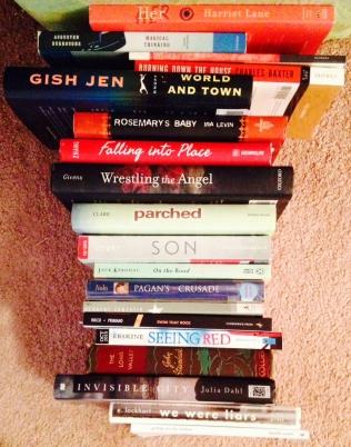 book spine short story